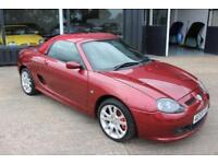 TROPHY CARS MGF MGTF,ONLY 15000 MILES, HARDTOP,NEW BELT & PUMP