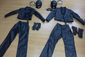 Taurus Leather Motorcycle suits (Jackets and Pants) S and M