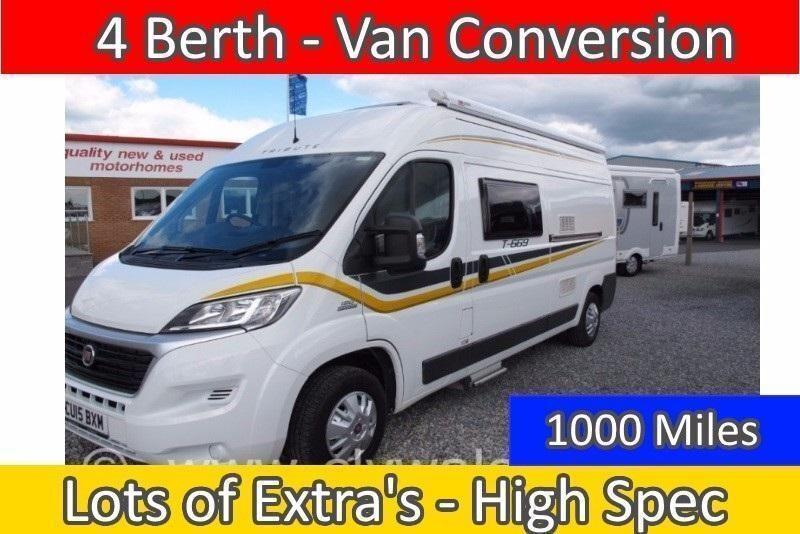 Tribute T 669 4 Berth Van Conversion MANUAL 2015