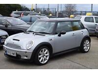 """MINI 1.6 COOPER S , CHILI PACK 17"""" ALLOYS, PANO ROOF, 91,000 MILES ONLY"""