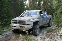ram 1500 mud truck