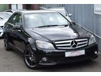 2010 Mercedes-Benz C Class C220 Saloon 2.1CDi BluEff 170 Sport A5 Diesel black A
