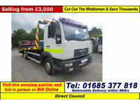 2002 - 51 - MAN LE 140C 7.5TON 4X2 RECOVERY TRUCK (GUIDE PRICE)