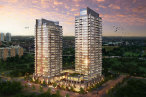 Gorgeous 1 Bdrm + Den Suite In The Modern Amber Mississauga