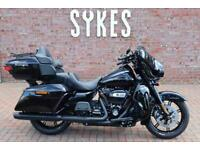 NEW 2021 Harley-Davidson FLHTK Touring Ultra Limited in Vivid Black