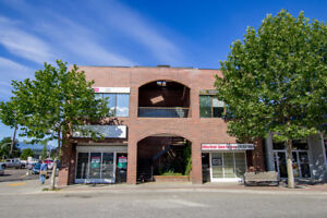 Prime downtown core location, 2,365 sq ft level entry