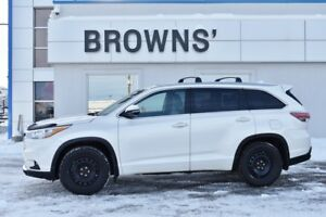 2014 Toyota Highlander Limited - W/Heated Steering & 1st & 2nd R