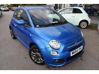 2014 Fiat 500 1.2 S (s/s) 3dr Petrol blue Manual