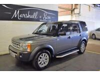 2008 08 LAND ROVER DISCOVERY 3 2.7 3 TDV6 XS 5D AUTO 188 BHP 7 SEATS DIESEL
