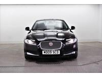 2014 Jaguar XF D PREMIUM LUXURY Diesel black Automatic