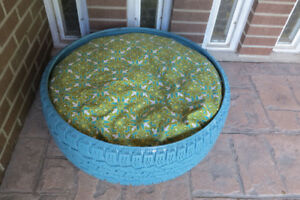 Tire Dog/Cat Bed (Blue)