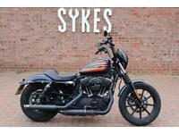 2020 Harley-Davidson XL1200NS Sportster Iron 1200 in Billiard Blue
