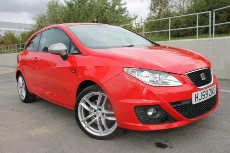 2010 Seat Ibiza Fr Sport Automatic Petrol Coupefsh Perfect Runner