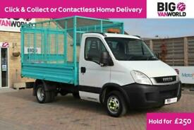 2010 IVECO DAILY 35C11 TD 126 MWB SINGLE CAB 10FT CAGED TIPPER (14262) TIPPER D