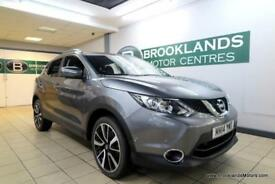 Nissan Qashqai 1.5 DCI TEKNA [3X NISSAN SERVICES, SAT NAV, LEATHER, HEATED SEATS
