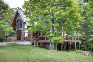 WATERFRONT PROPERTY ON SHEFFIELD LONG LAKE IN STONE MILLS