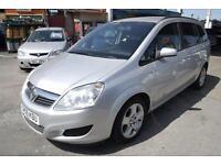 2009 Vauxhall Zafira 1.9CDTi Exclusiv DIESEL 1 YEARS MOT SERVICE HISTORY SPARE K