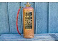 2 Antique fire extinguishers