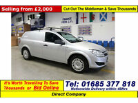 2011 - 61 - VAUXHALL ASTRA CLUB 1.7 CDTI VAN (GUIDE PRICE)