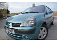 RENAULT CLIO DYNAMIQUE 1.2 16V 5 DOOR*LOW MILEAGE*FULL SERVICE HISTORY*LONG MOT*