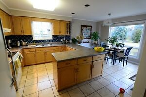 Kitchen Cabinets-Complete Set, Bleached Maple, Very Good Cond. Kitchener / Waterloo Kitchener Area image 2