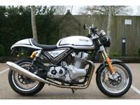 NORTON 961 COMMANDO SPORT STANDARD SINGLE SEAT EURO 3 NON-ABS MANX SILVER NORTON