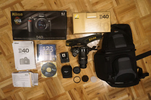 Nikon DSLR digital camera bundle
