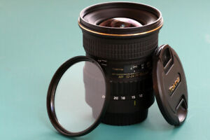 For Sale - Tokina Canon EF Mount - SD 12-24mm f4 IF DX