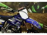 2016 YAMAHA YZ 250 MOTOCROSS BIKE RENTHAL HANDLEBARS, NEW GRIPS