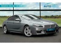 2018 BMW 6 Series Gran Coupe 4.4 650i V8 M Sport Gran Coupe Auto (s/s) 4dr