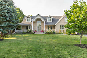 Exceptional Executive Home in Ayr on Large Lot
