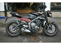 Triumph 2020 Street Triple 765 R LOW SEAT HEIGHT MODEL