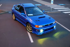 Remaining Parts from an STi Swapped 2000 Subaru GC8!!