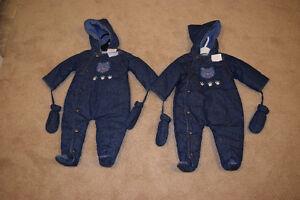 Little Me Snow Suits 9 months
