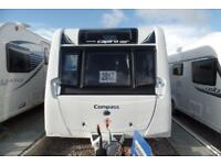 NEW COMPASS CAPIRO 482 2 BERTH INC ALDE. Available to view at Kendal Caravans