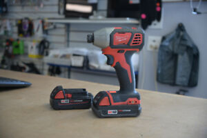 Milwaukee 2656-20 Impact Driver + 2 Batteries