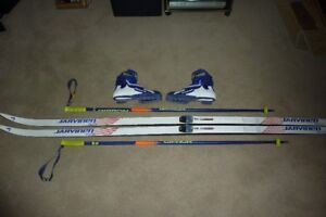 Cross Country Skis, Poles & Boots