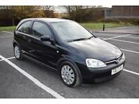 Vauxhall Corsa 1.0i 12v 2003.5MY Active, Ideal first car, very low mileage