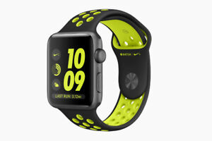 Apple Watch Nike+ 42mm Series 2 Space Grey Black Volt Nike Band