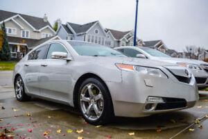 2009 Acura TL Sedan Silver SH-AWD *LOW KM, CLEAN CARPROOF*