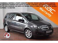 2012 Vauxhall/Opel Zafira 1.7CDTi 16v (125ps)Design-HEATED SEATS-CLIMATE CONTROL
