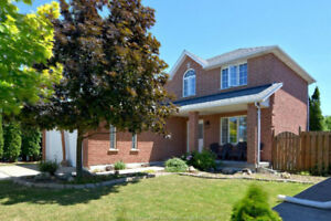 Brick home in Tecumseh 3/3 with pool and 2 car garage