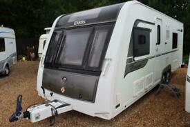 Elddis Crusader Super Sirocco SoLiD 2014 4 Berth Fixed Bed Twin Axle Caravan