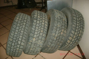Tempra Winter Quest 215/65R16 Studded and on Rims(Tempra)