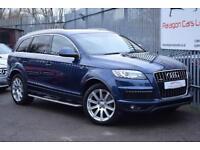 2011 Audi Q7 SUV quattro 3.0TDi 240 S line TIP Auto8 Diesel blue Automatic