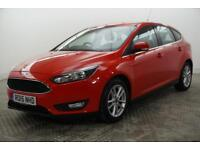 2015 Ford Focus ZETEC Petrol red Manual