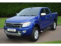 Ford Ranger 2.2TDCi 4x4 auto Double Cab Limited