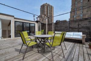 Milton Park / Centre-ville / 1150 pc, terrace, parking