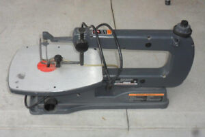 Craftman 16 Inch Variable Speed Scroll Saw with tilting base