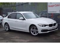 2016 BMW 3 Series 320 Saloon 2.0d 190 SS SE A8 Diesel white Automatic